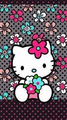 HI Kitty Wallpaper Cell Phone WallpapersKitty WallpaperHello