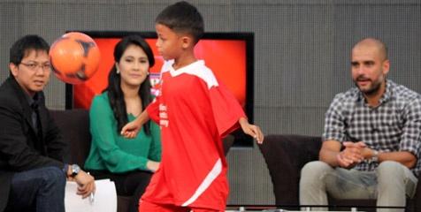 Barcelona dan Liverpool Rebutan Tristan Alif Naufal
