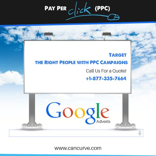 Get New Customers with Carefully Planned #PPC #Campaigns.  Call us for a quote! +1-877-335-7664