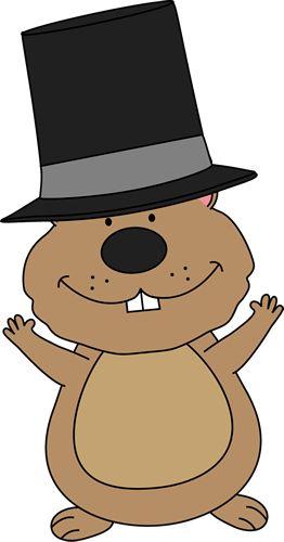 Happy Groundhog Clip Art - Happy Groundhog Image