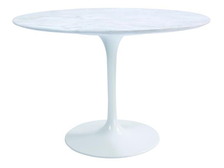 Matbord Wilma Runt : Soffbord marmor accent xl cm stål kr trendrum