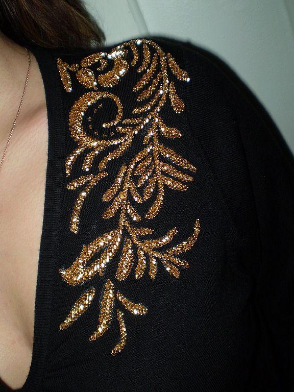 Как скучное платье превратить в шедевр от кутюрье - Perchinka63