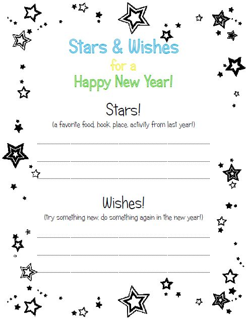 Goal Setting for Preschoolers (Activity & Printable ...
