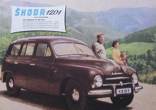 Skoda 1201 wagon #Skoda