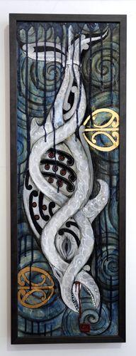 Maori Art + Design - Kura Gallery - Auckland & Wellington NZ » Robin Slow
