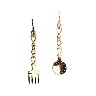 Kitchen Set Earrings Artwork
