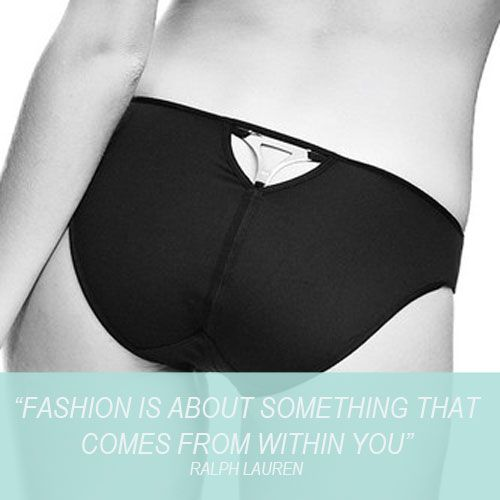Style comes from within: Marlies Dekkers Triangle Brief  http://www.misa.com.au/triangle-brief-in-black/