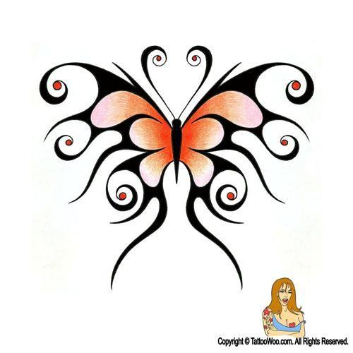 Best 25  Tribal Butterfly Tattoo Ideas On Pinterest