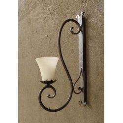 WROUGHT IRON WALL LAMP design . 135