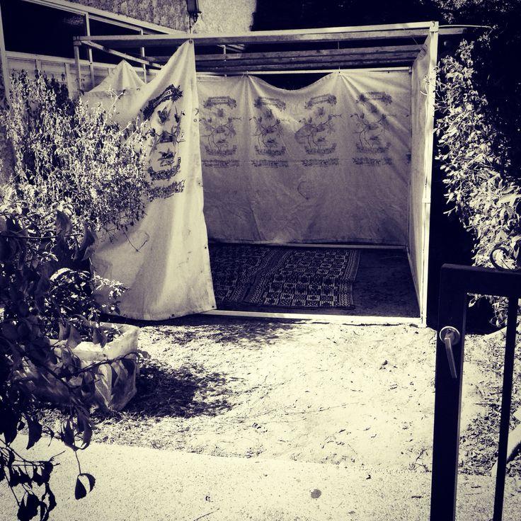 Our sukkah