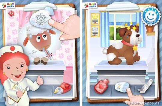 Arztpraxis Tiere Spiel Happy Touch Kinder Apps (4)