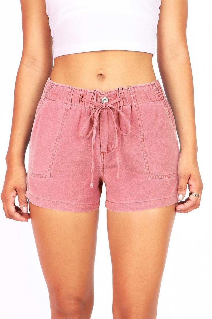 Bahamas Drawstring Linen Shorts