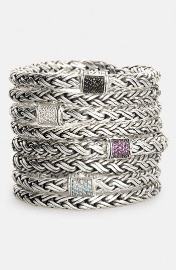 John Hardy 'Classic Chain - Kepang' Double Wrap Chain Bracelet (Nordstrom Exclusive) available at #Nordstrom