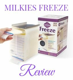 The Milkies Freeze keeps frozen breastmilk organized! Must have for any pumping mom!