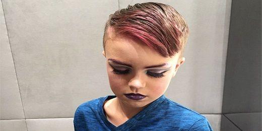 Το 8χρονο αγόρι που θέλει να γίνει επαγγελματίας μακιγιέρ.