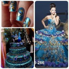 17 Best images about peacock quinceanera theme on Pinterest ...