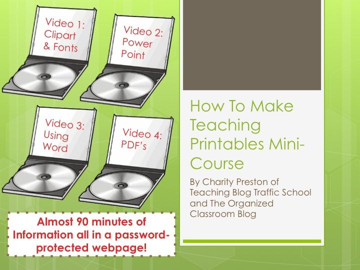 everal different blogging video tutorials and even how to make those cute printables you see everywhere!  Have fun shopping!  http://www.theorganizedclassroomblog.com/index.php/ocb-store/view_category/14-blogger-tutorialsShops Network, Daily Steals, Today Daily, Teachers Shops, Teaching Printables, Printables Tutorials, Create Teaching, Classroom Ideas, Printables Minis Courses