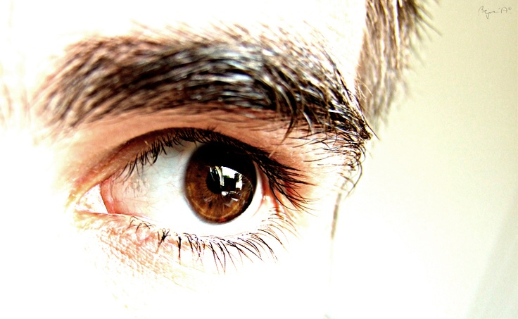 Look out through my eyes...