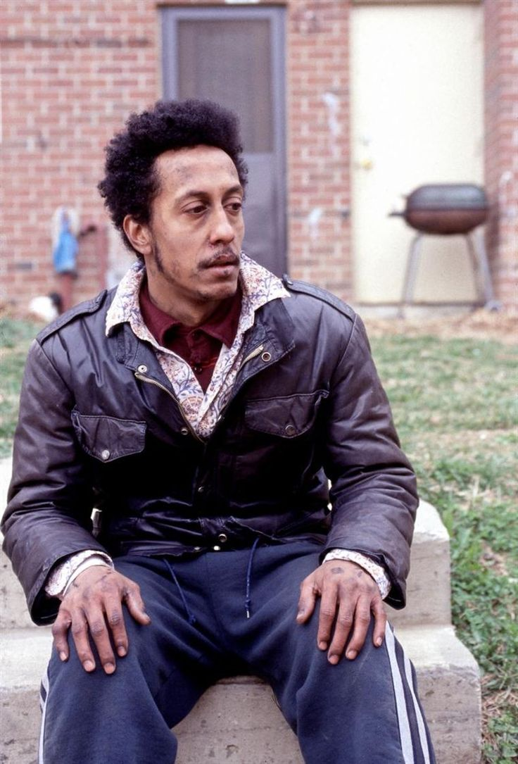 "Bubbles in ""The Wire"" played in awesome fashion by Andre Royo."