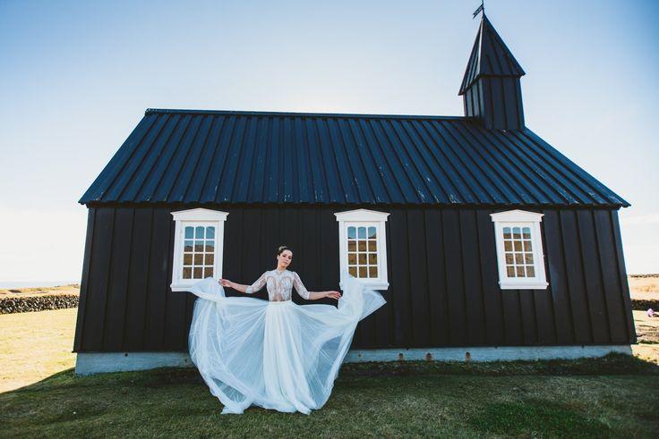 Esküvői kreatív fotózás Izlandon, szebbnél szebb Daalarna ruhákban   Secret Stories
