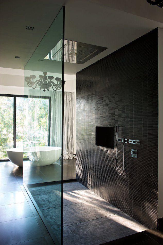 50 salles de bains design voir absolument beautiful rain shower and house - Badkamer desi ...
