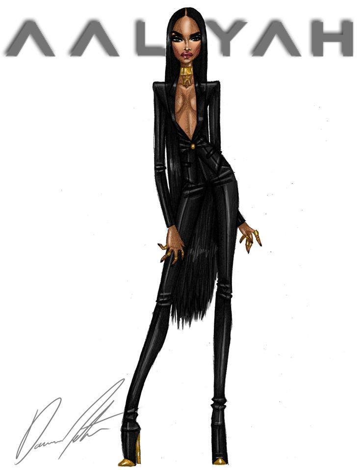 Aaliyah, Look .2 by Daren J