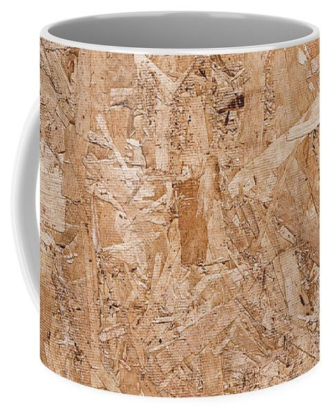 Mariia Kalinichenko Coffee Mug featuring the photograph Texture Of The Pressed Wood by Mariia Kalinichenko #MariiaKalinichenkoFineArtPhotography #HomeDecor #WoodTexture #ArtForPrint #CoffeMug