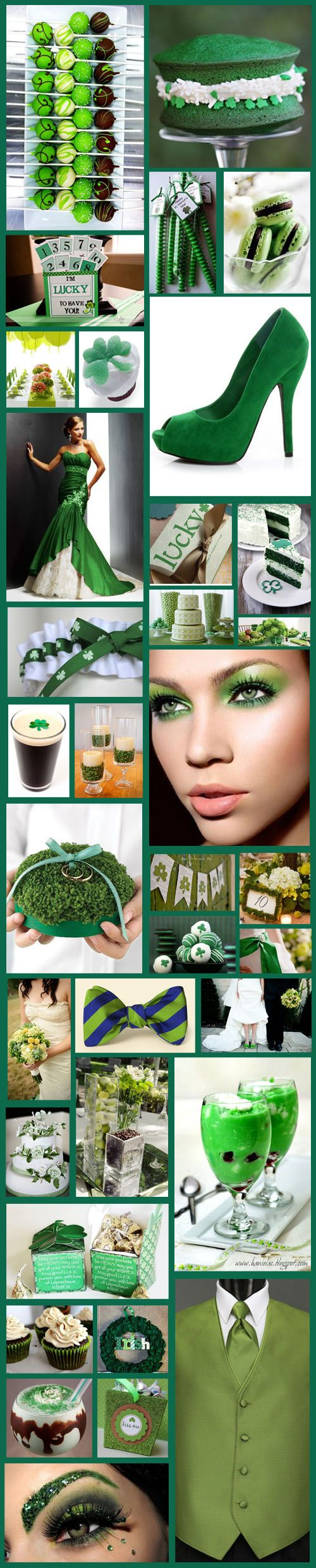 Be Inspired: St Patrick's Day Wedding Inspiration Board!