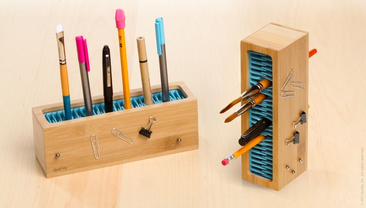 Pen Zen — The Art of Organization $19.99Holiday Gift, Zen Pens, Extra Storage, Pens Zen, Desks Organic, Painting Brushes, Storage United, Quirky Products, Offices Supplies