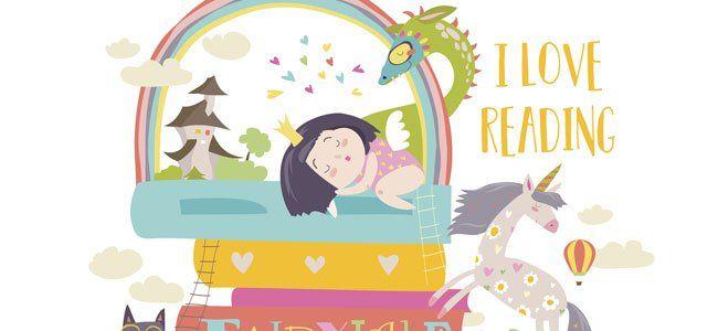 Una selección de los mejores cuentos de fantasía para contar a los niños.