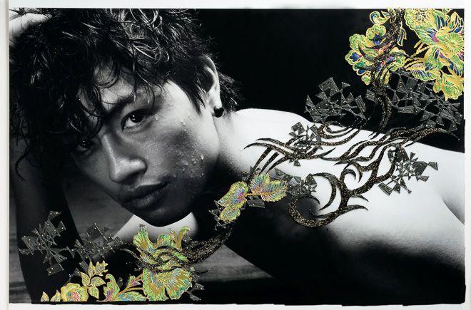 kiyokawaasami_danshi-2013 TAKUMI SAITO 斎藤工 /清川あさみ