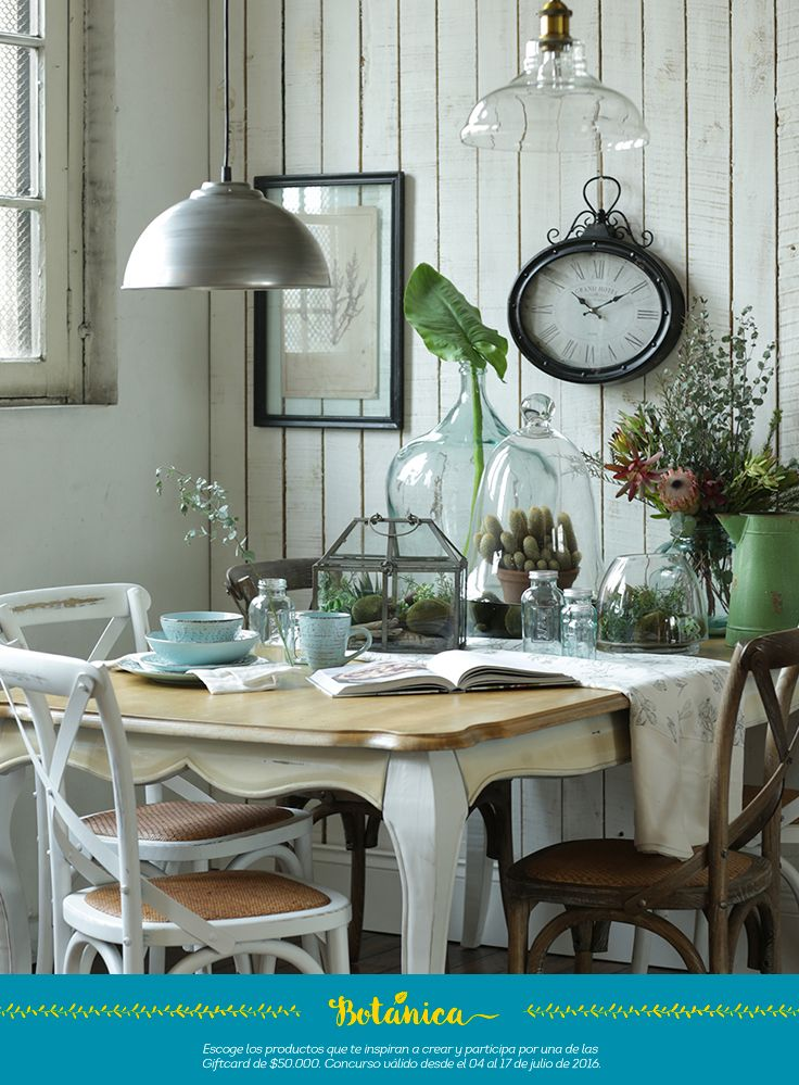 😍😍😍😍 comedor estilo #Botanica, simplemente perfecto 👌🏻