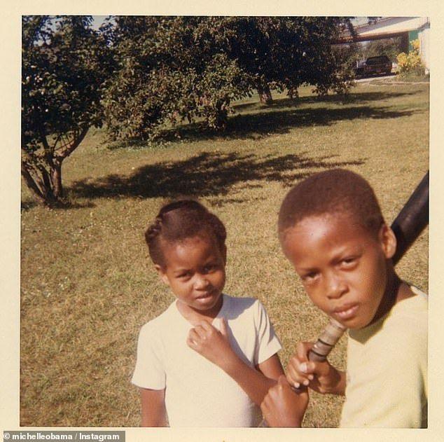 Michelle Obama Childhood Photos