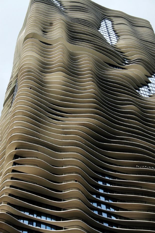 Aqua Building in Chicago - by Jeanne Gang