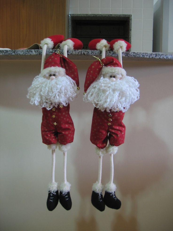 Papai Noel Pendurado'