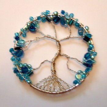beaded wire tree love it!!!