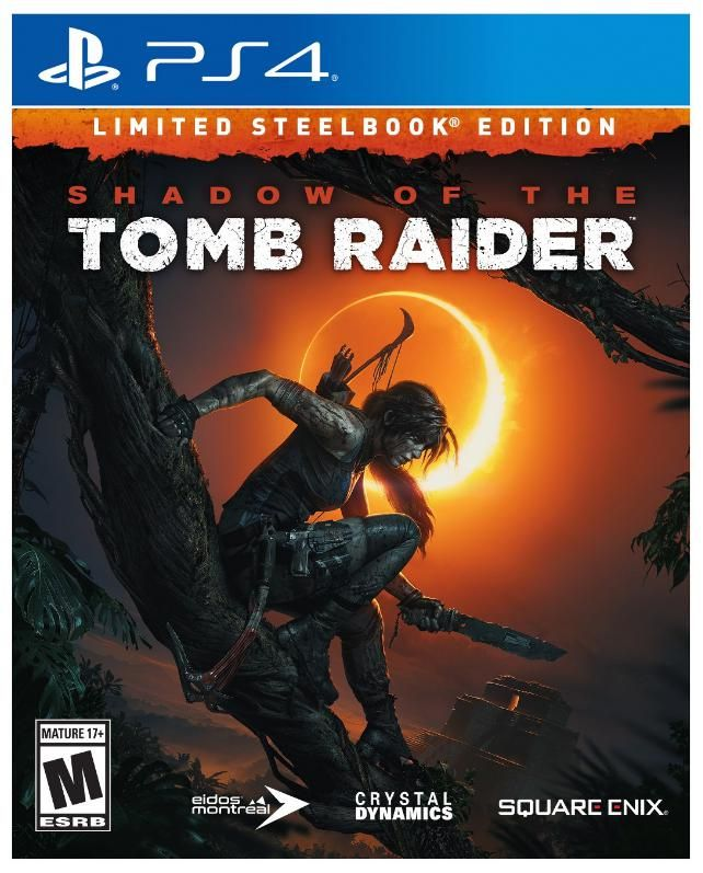 Shadow Of The Tomb Raider Limited Steelbook Edition Playstation 4 All About Games Tomb Raider Xbox One Tomb Raider Ps4 Tomb Raider Pc