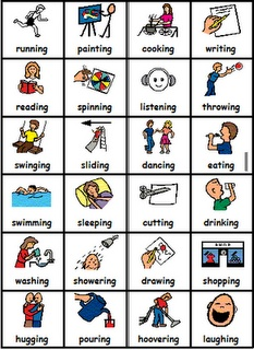 Frequently used verbs sheet