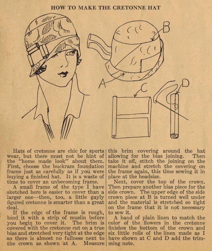El Midvale Cottage Mensaje: Tips Inicio de coser de la década de 1920