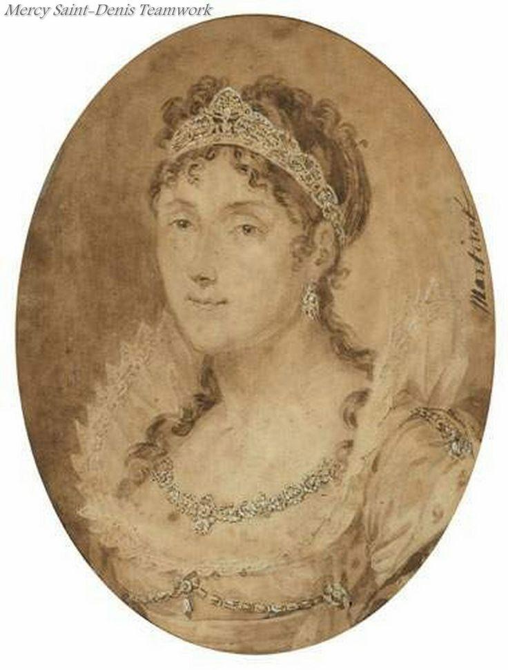 Portrait of Empress Josephine.