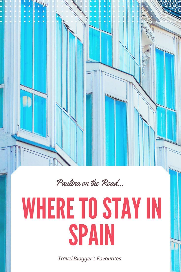 Where to stay in Spain? A selection of Travel Blogger's Favorite Hotel, Resorts, AirBnb, Aprtments, Villas all over Spain. From #Barcelona over #Granada to #Lanzarote. #spain #hotels #resorts