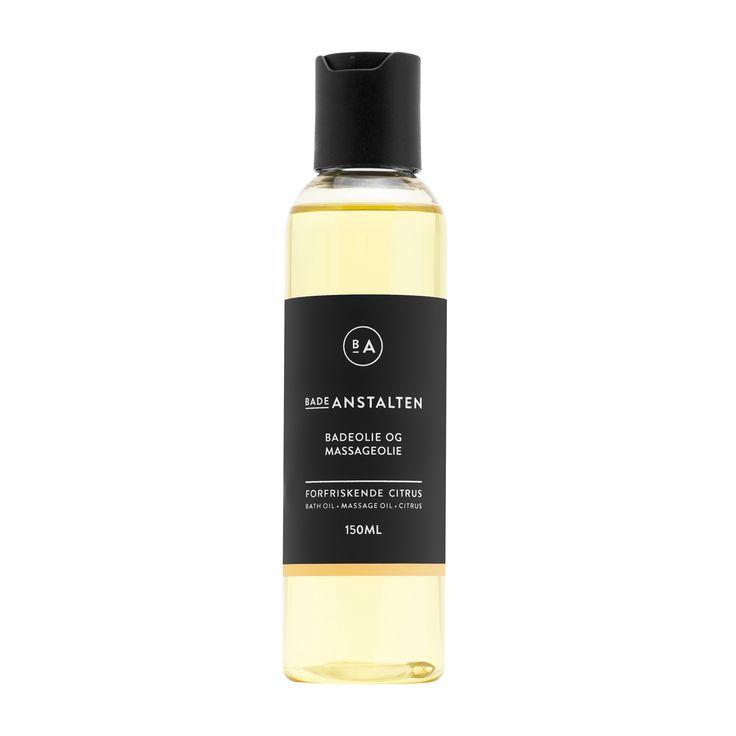 Bath & Massage Oil Citrus