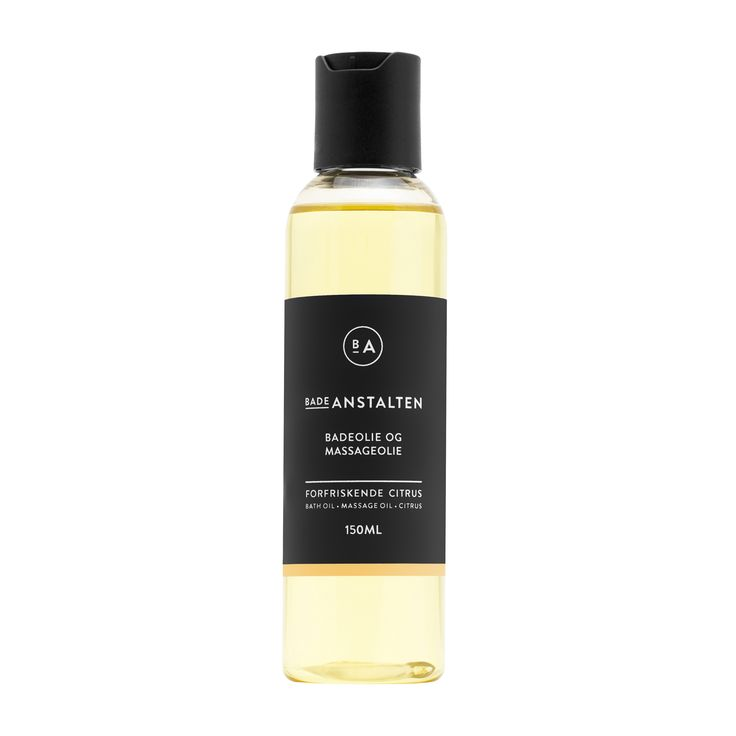 Bath & Massage Oil Citrus