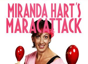 Comedy queen Miranda Hart wants to help you get fit, with her brand new never-seen-on-TV DVD. We'll be giving people all over the UK the chance to host a Miranda Hart Maracathon in their house or workplace!