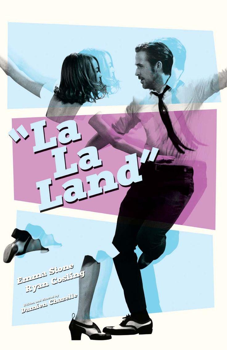 """mikesapienza: """"My """"La La Land"""" film poster. Now available at my shop: https://www.etsy.com/shop/sap41387 """""""