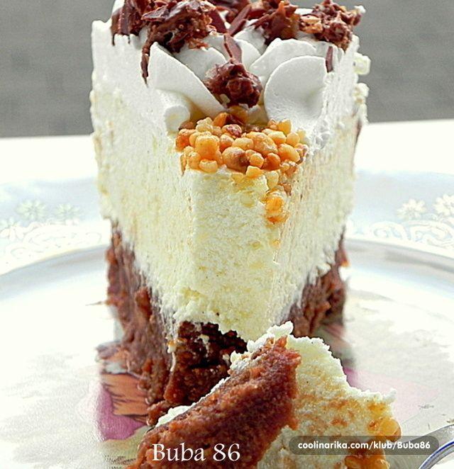 Jako fina i brza torta koja se ne pece,sa ukusom narandze i jafa keksom...