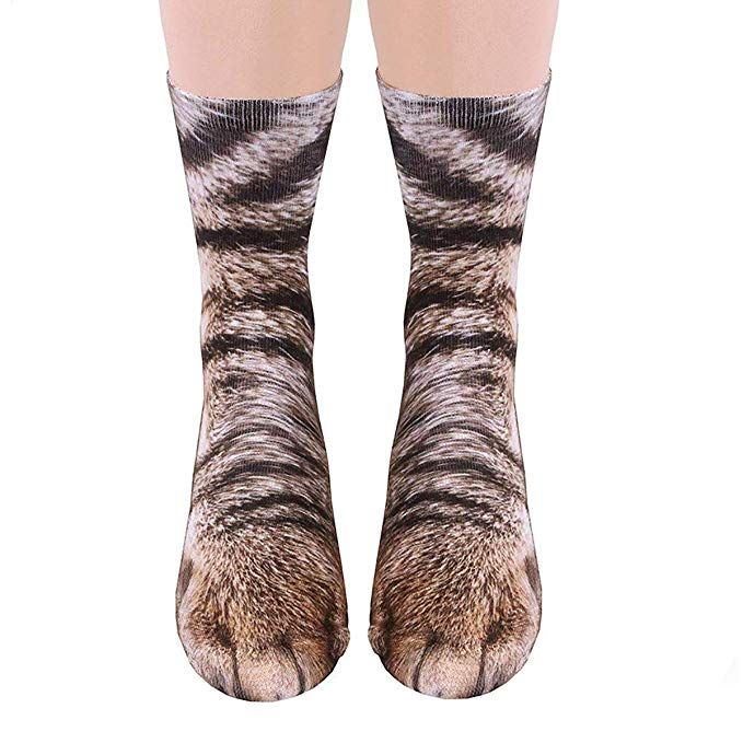 Cat Paw Socks Hilarious And Fun Design   Hotpetdeals   Paws socks, Cat paws, Socks