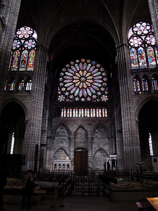 St Eustache, Paris by avg