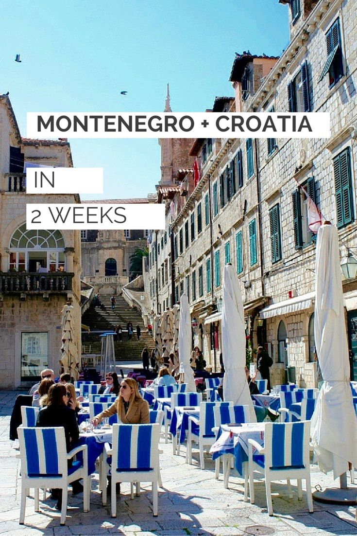 Montenegro & Croatia in 2 weeks