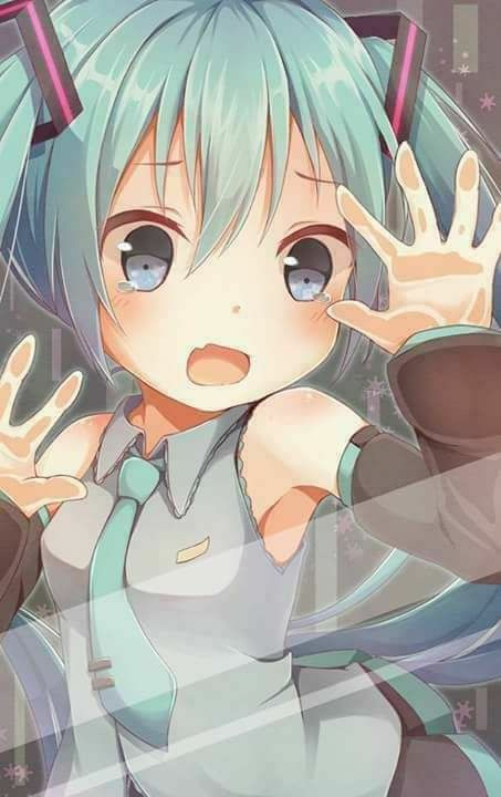 Hatsune miku by wallpaper anime